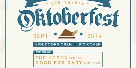 3rd Annual Oktoberfest  tickets
