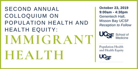 Colloquium on Population Health and Health Equity: Immigrant Health tickets