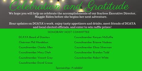 A Celebration of DCAYA tickets