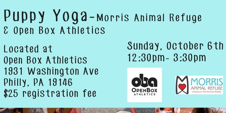 Puppy Yoga with Open Box Athletics tickets