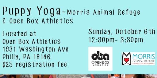 Puppy Yoga with Open Box Athletics