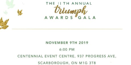 11th Annual Triumph Awards Gala tickets