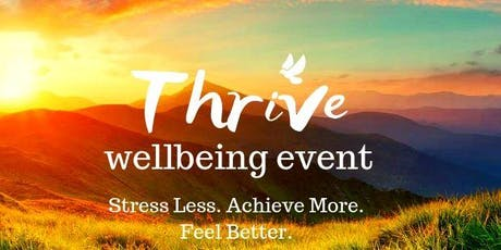 Thrive Wellbeing Event Canal Court tickets