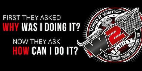 Wimp 2 Warrior - Ottawa Tryouts tickets