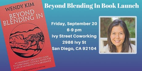 Beyond Blending in Book Launch tickets