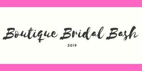 Boutique Bridal Bash 2019 tickets