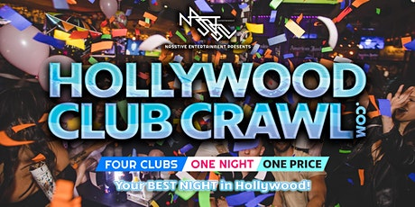 Hollywood Club Crawl - Guided party tour to 4 Hollywood nightclubs and bars tickets