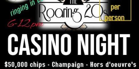 New Years Eve Casino Night 2019 tickets