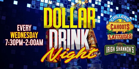 $1 Drink Night Wednesdays | RSVP-4-FREE Entry & 1st Drink FREE tickets