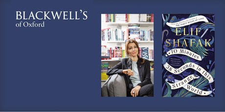 Blackwell's  Lecture : Elif Shafak tickets