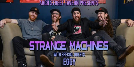 Strange Machines with Eggy tickets