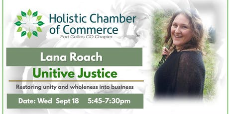 Educational Workshop & Dinner with Holistic Chamber of Commerce(FOCO)  tickets