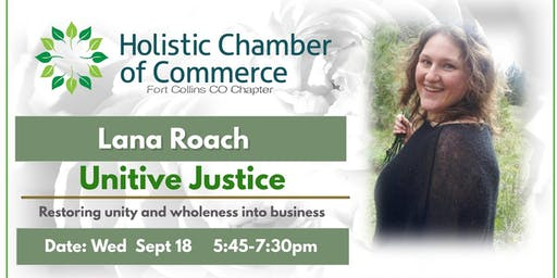 Educational Workshop & Dinner with Holistic Chamber of Commerce(FOCO)