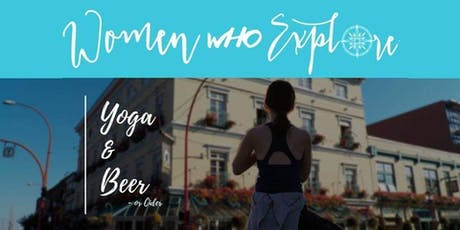 Beer and Yoga on the roof tickets