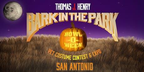 2019 Thomas J. Henry Bark in the Park - San Antonio tickets