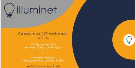 illuminet's 10th Anniversary tickets