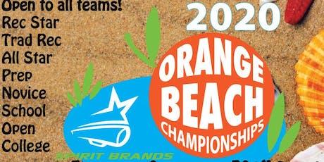 Orange Beach National Cheer & Dance Championships tickets
