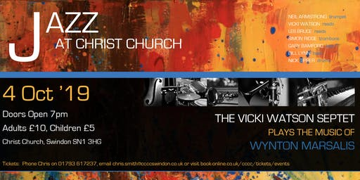 Jazz at Christ Church with the Vicki Watson Septet
