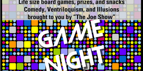 Grades 4-9 Game Night and Comedy tickets