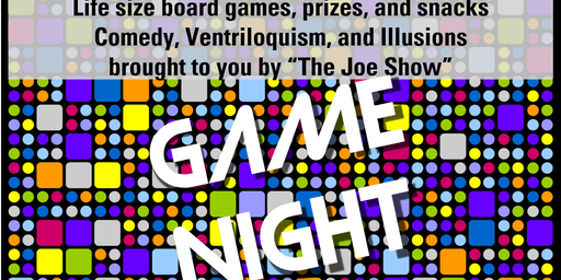 Grades 4-9 Game Night and Comedy