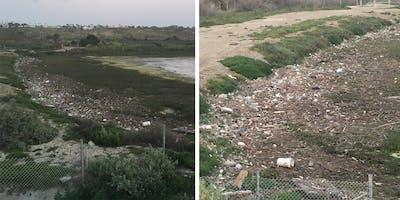 Coastal cleanup Day - Santa Ana River Marsh