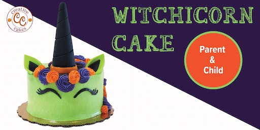Witchicorn Cake - Parent & Child