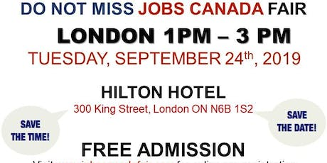 London Job Fair - September 24th, 2019 tickets