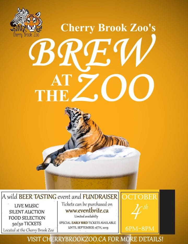 Brew at the Zoo Tickets, Fri, Oct 4, 2019 at 6:00 PM