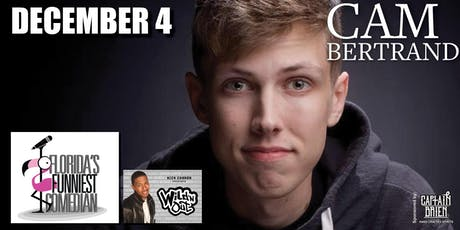 Florida's Funniest Winner Cam Bertrand at Off the hook comedy club tickets