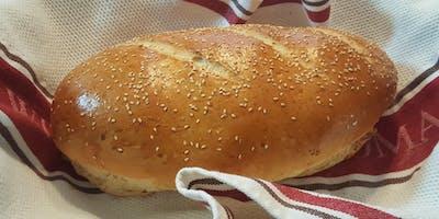 BREAD MAKING CLASS: Easy Italian Bread