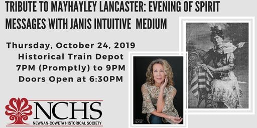 Spirit Messages w/ Janis Intuitive: Tribute to Mayhayley Lancaster