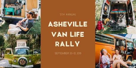 5th Annual Asheville Van Life Rally 2019 tickets