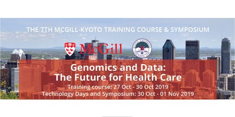 THE 7TH MCGILL-KYOTO TRAINING COURSE tickets