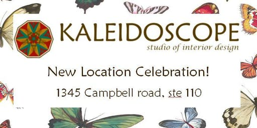 New Location Celebration - Kaleidoscope-Studio of Interior Design