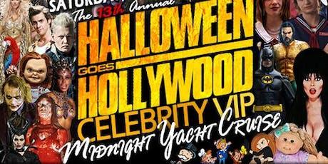 Halloween Goes Hollywood Midnight Cruise tickets