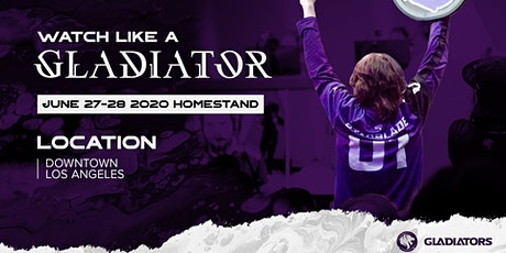 THE FIRST GLADIATORS HOMESTAND tickets