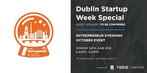 Entrepreneur Evenings - October Event - Dublin Startup Week Special