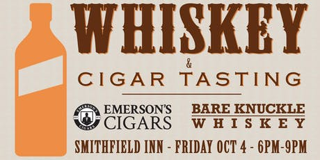Whiskey and Cigar Tasting tickets