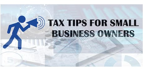 The Small Business Owner's Tax Session tickets