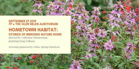 Hometown Habitat Stories of Bringing Nature Home tickets