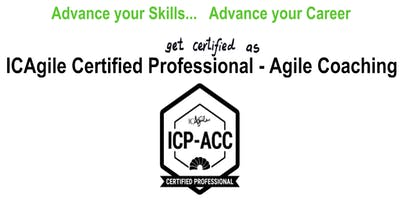 ICAgile Certified Professional - Agile Coaching (ICP ACC) Workshop - Houston TX