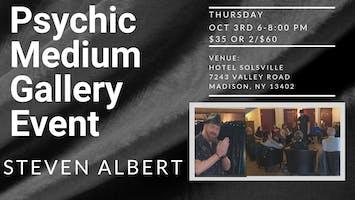 Steven Albert: Psychic Gallery Event - Hotel Solsville 10/3