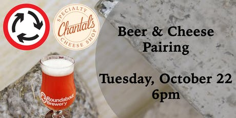 Beer & Cheese @ Roundabout Brewery tickets