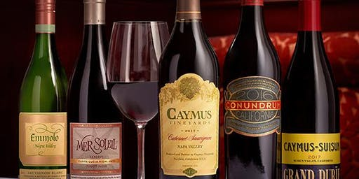 Caymus Wine Dinner Raleigh