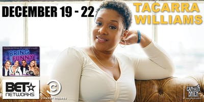 Stand-up Comedian Tacarra Williams live in Naples, Florida