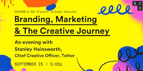 Stanley Hainsworth B-Sides Session: Branding, Marketing & the Creative Journey tickets
