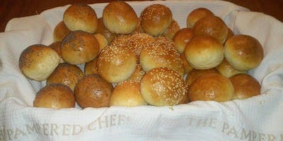 BREAD MAKING CLASS: Holiday Dinner Roll Workshop