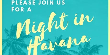 "2019 Grandview ""Havana Nights"" Dinner and Silent Auction tickets"