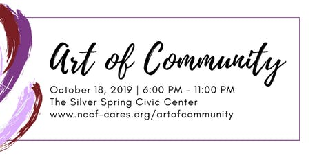 NCCF Presents The Art of Community tickets