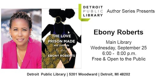 DPL Author Series: Ebony Roberts